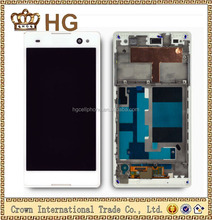 For Sony Xperia C3 D2533 D2502 Display Screen With Touch+ Frame,For Sony C3 Lcd With Touch Frame