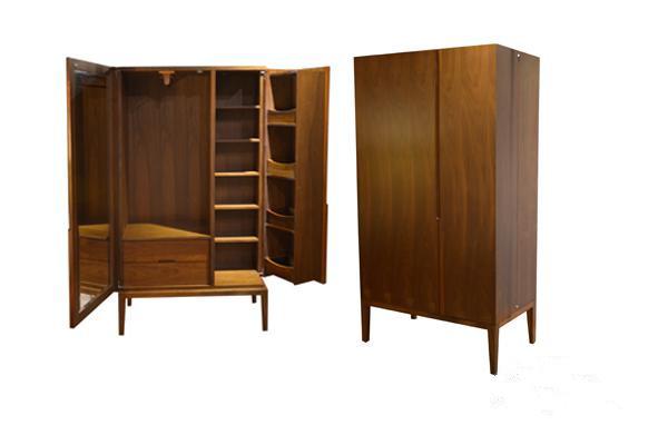 Wooden Wardrobe Styles : ... Wood Vintage Style Bedroom Wooden Wardrobe Design Cloth Wardrobe