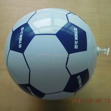 10 inches cheap inflatable soccer ball with logo printed for fair giveaway