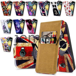 2015 Luxury Printed Flip PU Leather Case for Wiko Barrry Cover