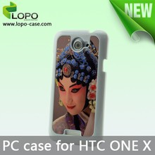 cell phone case blank sublimation case for HTC ONE X with Aluminum insert