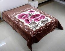 Manufactory walmart alibaba china home textile stock 100% woven acrylic blanket