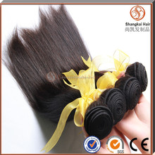 Wholesale full end 6a virgin peruvian human hair extension