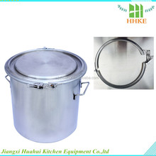 40L stainless steel light up bucket with handle milk drum