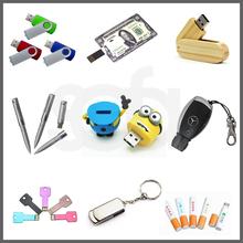 Wholesale china leather USB flash drive with keychain,Leather USB stick,PU USB flash drive with key