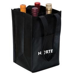Durable tote 4 bottle wine beer Bag wholesale