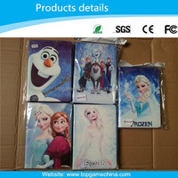 Cute Cartoon Folded Leather Case Frozen Case for iPad mini Stand Case Cover
