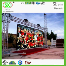 2015 factory price CE Rohs p10 xxx video china led display board