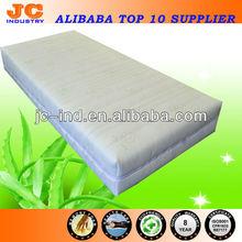 Eco-friendly Memory Foam Aloe Vera Mattress Topper