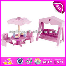 2015 New kids wooden dolls house furniture,popular children dolls house furniture and hot sale dolls house furniture WJ278003