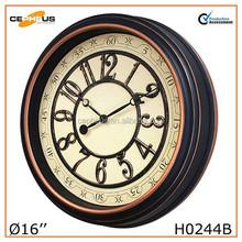 """16"""" Decorative Antique Wall Clock"""