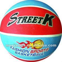 hot design cheap rubber basketball/basketball/manufacturer