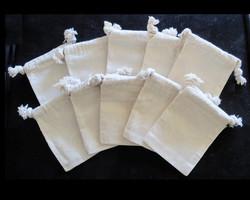 hot sale china factory manufacturer plain white cotton canvas tote pouch