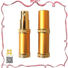Hot sale wholesale golden vaporisateur eau de parfum natural spray