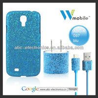 plain and neat phone accessory for samsung s4 | plain and neat phone case for samsung s4 with 1 set same style charger