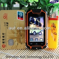 The smallest dual sim DUAL CORE PDA Rugged android mobile phone tough android cell phone