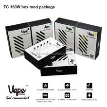 2015 vapor box mod 150w TC electronic cigarette in USA market