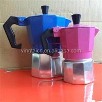 expresso aluminum coffee maker aluminum coffee cup