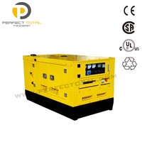 12kva silent genset water cooling diesel generator with PERKINS engine