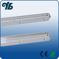 ROHS CE approval 5ft led t8 fluorescent light fitting waterproof ip65