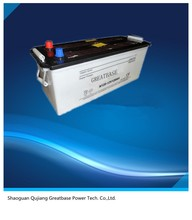lead acid battery N120 12V 120AH battery for car/ truck starting/ 120ah dry charged type auto battery for vehicles