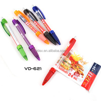 hot new products for 2015 banner ball pen with 2016 calendars