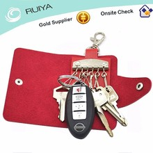 PU Leather Key Holder , Key Organizer Wallet
