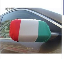 Italy Rear Mirror Cover/ Side Mirror Flag/ Car Mirror Cover Flag