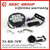 NSSC 70W work lights ,super bright 11000lm led truck work lights