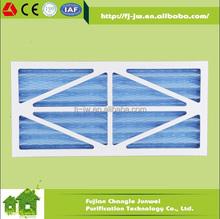 JW G3 G4 HVAC filter, G4 pleated filter, pre filter panel