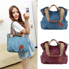 Wholesale Fashion Women Canvas Tote Handbags SV017853