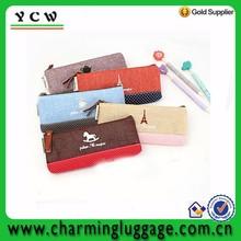 Custom factory cool fancy drawing pencil bag