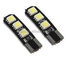 High quality T10 5050 canbus 6smd Turn light accessories for car led auto car interior dome daytime runing white