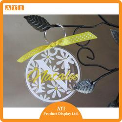 Hongkong Supplier Wholesale Custom Acrylic keychain/ Printed Promotional Acrylic Key Chain