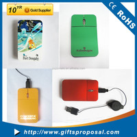 Cheap Wired Computer Rainbow Optical Mouse Flat Mouse Laptop Mouse