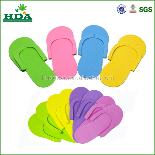 Disposable Pedicure Slipper For Wholesale Eva Foam