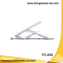 friction stay arms,High quality SUS304 stainless steel single stop friction stay HDS for aluminium windows YC-A02