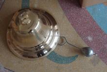 brass ship's bell for marine