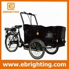 cargo delivery bike cargo tricycle bike with cabin used