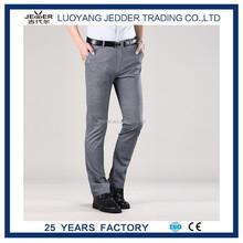 Vestido ocasional delgado fit pantalones para adualts en hombres