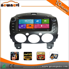 Special 2 Din 8 inch In Dash Car DVD GPS for Mazda With Touch Screen/ Bluetooth/ USB/ SD/ Camera/DVR/AM/FM/3G/WIFI