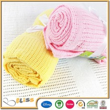 10 Years Promotion Blanket Experience hand knitted/crochet knit baby blanket