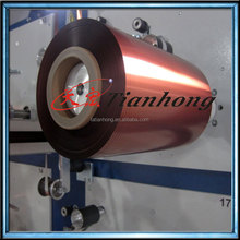 Spool packaging aluminium polyester foil for cables