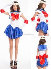 Uniforme escolar japonés japón vestido de Sailor Moon Cosplay Anime Girl estilos