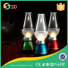 2015 Popular vintage american style glass led table lamp for study