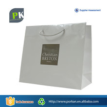 China Wholesale Tote Art Paper Bag With Your Own Logo