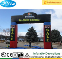 DJ-GM-37 china supply cheap new style advertising sales promotion inflatable arch/archway/arch door