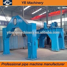 precast pipe making machine with suspension roller pipe mould - with steel mould for export
