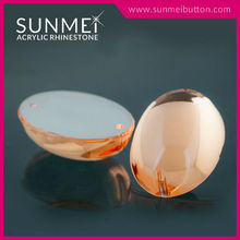 Taiwan High Quality Products Transparent/ Opal Color Sew on Rhinestone Bead