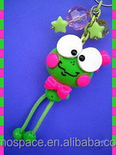 Handmad polymer clay doll kinds of frog designes
